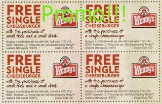 printable Wendys coupons