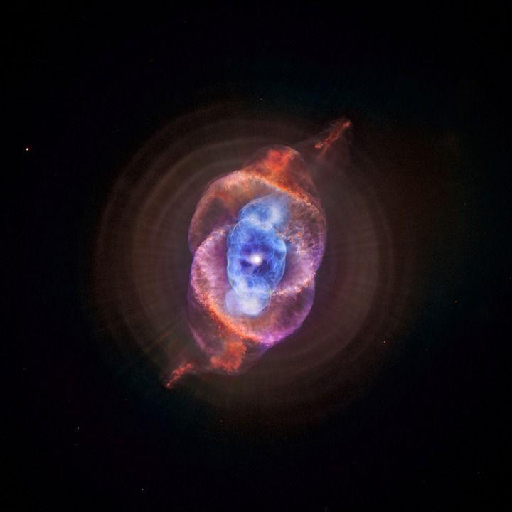 Nebulosa Occhio Di Gatto, Ngc 6543, Cosmo, Spazio