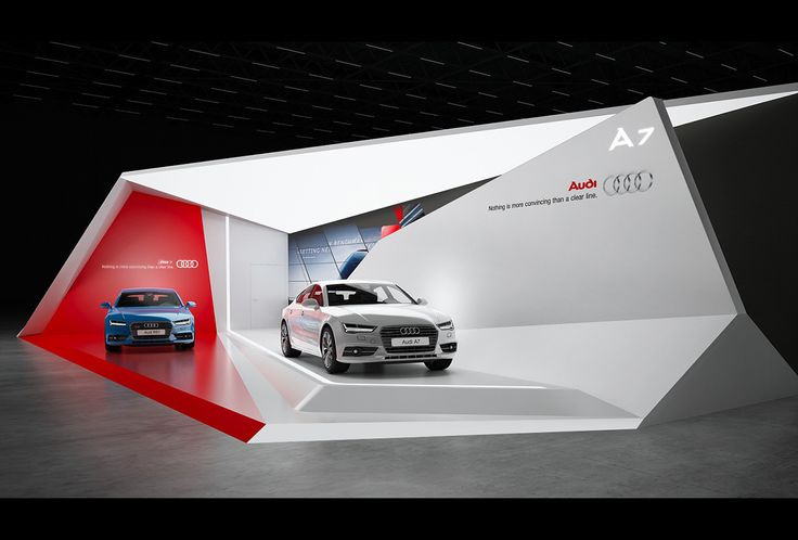 Audi A7 exhibition stand design | | GM Stand Design