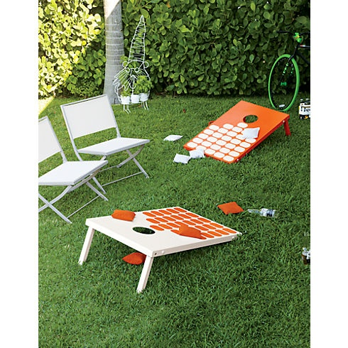 cb2 patio furniture. enjoy a weekend outdoors playing bag toss game cb2 cb2 patio furniture