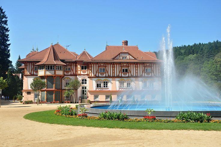 Spa Luhačovice in Czech republic.