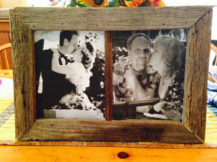 24th Wedding Anniversary Gift Ideas: A Gift I Made For My Parents 24th Anniversary #wedding