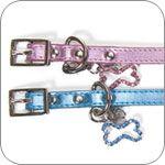 Personalizable Metallic Bling Dog Collars