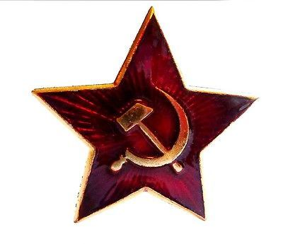 Russian military red star pin badge genuine #soviet army #beret #jacket badge uss,  View more on the LINK: 	http://www.zeppy.io/product/gb/2/121053828800/