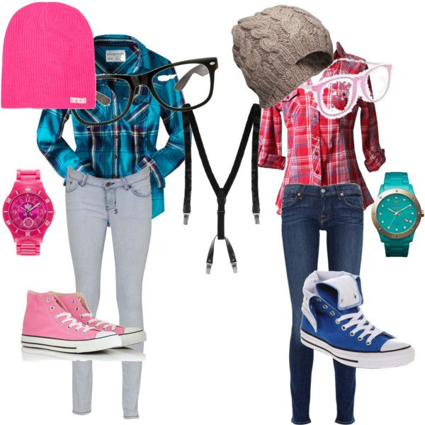 """nerd costume : halloween"" by shorttemperednialllovingteenager on Polyvore"