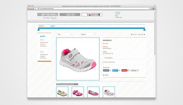 Bosi Bambino Website
