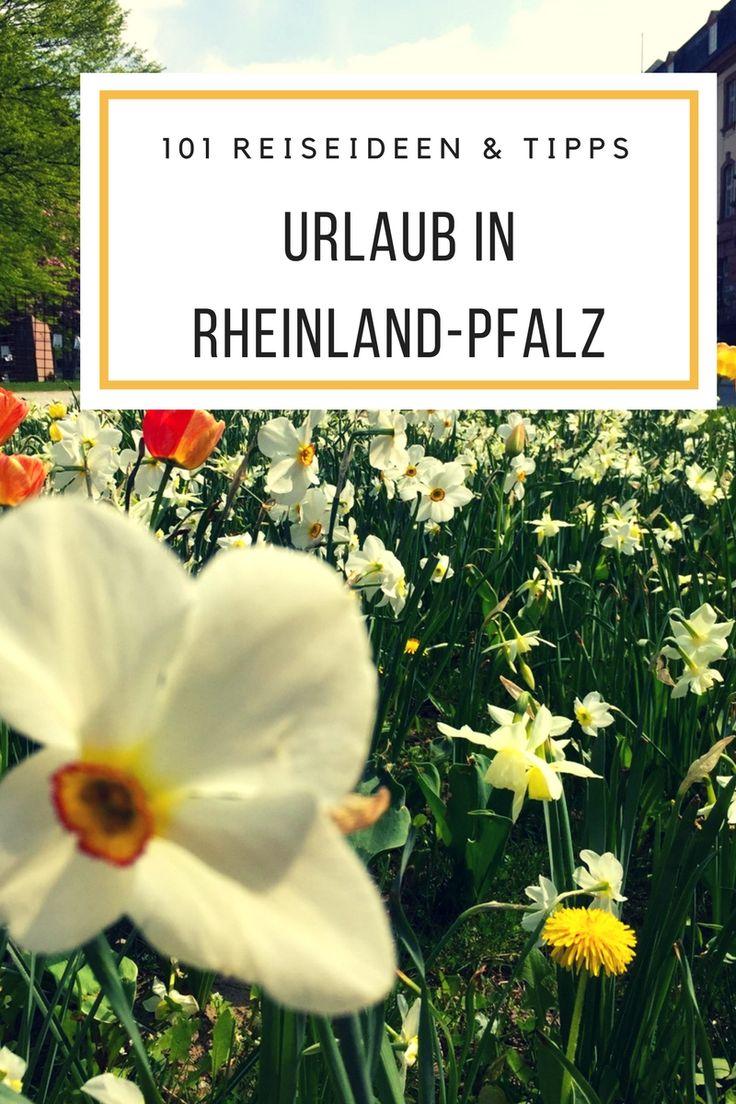 Rheinland Pfalz Wandern & Urlaub - 101 Reise & Urlaubstipps für Rheinland-Pfalz.