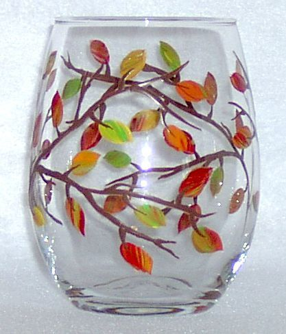 Fall Leaves - hand-painted by Connie's Creations