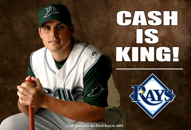Tampa Bay Rays - Homecoming King: Cash chosen to manage Rays. 12/05/2014