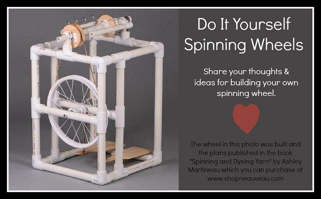 DIY Spinning Wheels
