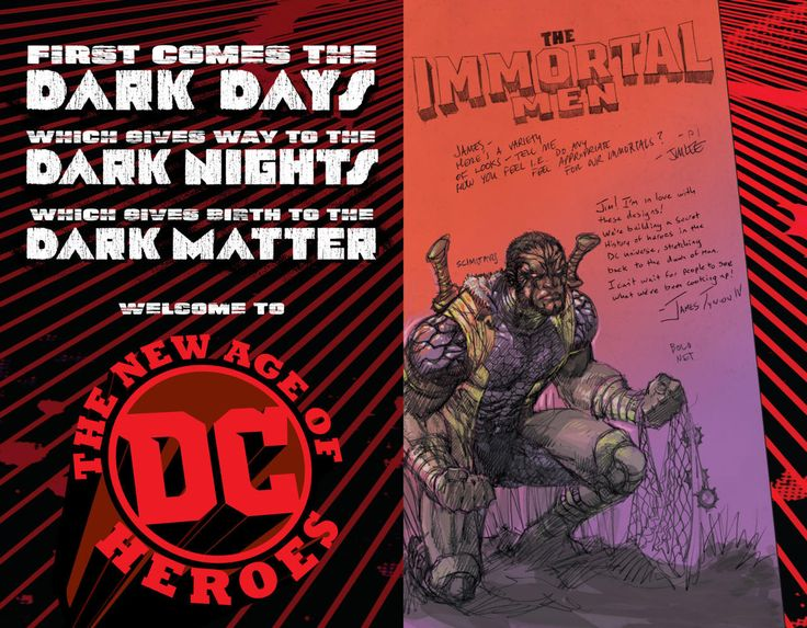 What Is The DC New Age Of Heroes Announced At New York Comic Con?