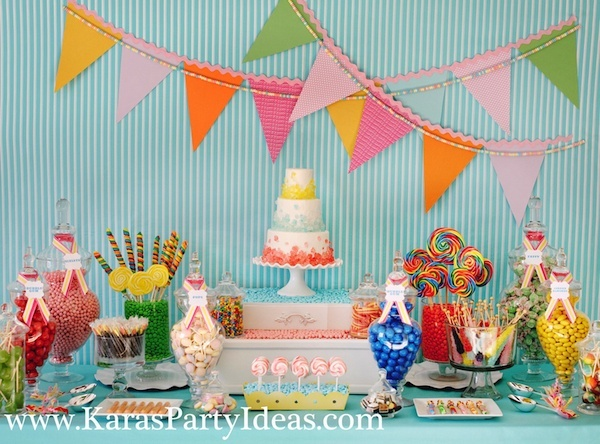 sweet-shoppe-party-candy-dessert-table-flags-rock-candy-cake-scoops-karas-party-ideas-zurchers