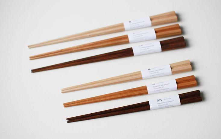 八角削り箸 - 木の生活道具MWC.WORKSHOP