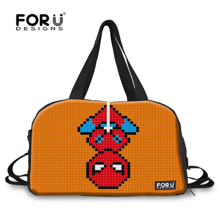 FORUDESIGNS Cartoon Gym Bag 2017 New Sport Men Bag Outdoor Shoulder Luggage Boarding Bag for Teenager Boys Football Shoes Bag