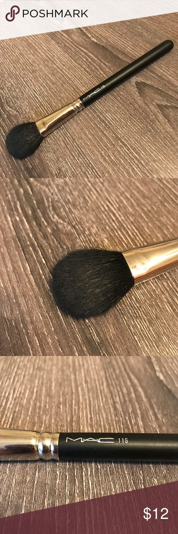 MAC Blush Brush Gently used mac blush brush #116. Only used a few times and is washed with clinique brush cleaner. See pictures for quality. Will ship same day! Makeup Brushes & Tools