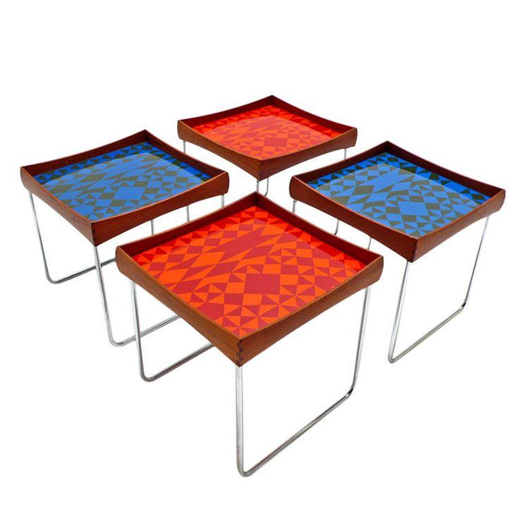 Hermann Bongard, norwegian designer, table from the 60's