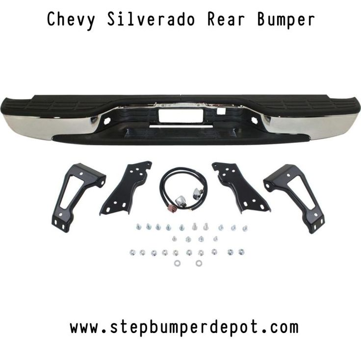 Things To Keep in Mind When Installing Your New 2003 #chevy  #Silverado  Rear #Bumper.