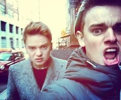 Conor and Jack Maynard