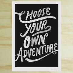 Blacklist Studio prints - Choose your own adventure