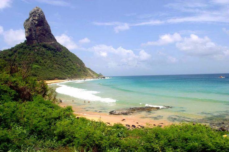 Morro do Pico - Praia da Conceição - Fernando de Noronha