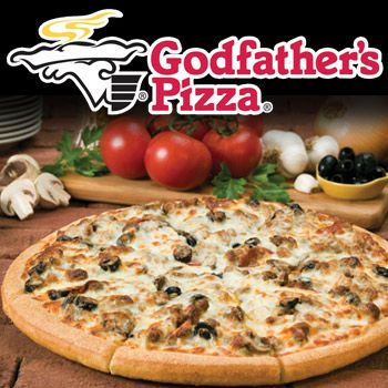 ✯ Godfathers Pizza ✯ I miss this place! They actually still have a couple of these around, just not near me.