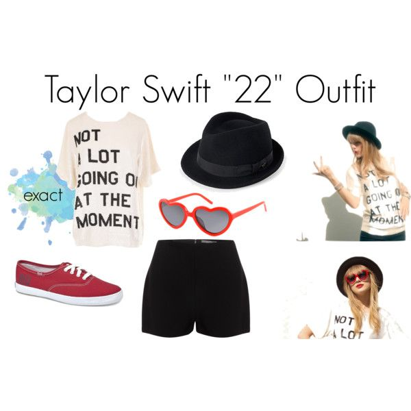 Taylor Swift 22 Outfit by madisonmalik1d on Polyvore. I love the shirt on this…