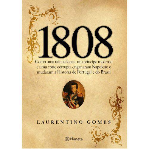1808 é um livro histórico que nos faz entender o Brasil de hoje mostrando, com relatos de época, as razões pelas quais somos um país corrupto, violento, desorganizado e as raízes de todas demais mazelas do nosso país.
