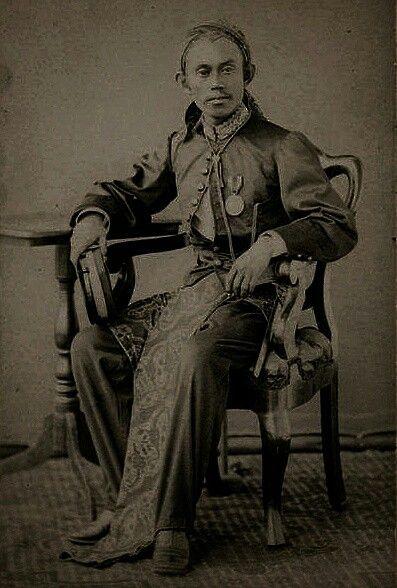 Martanagara, patih van Soemedang. circa 1882