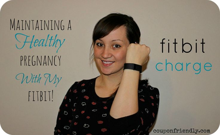 Maintaining a Healthy Pregnancy with my FitBit Charge wristband!! Check out my review!