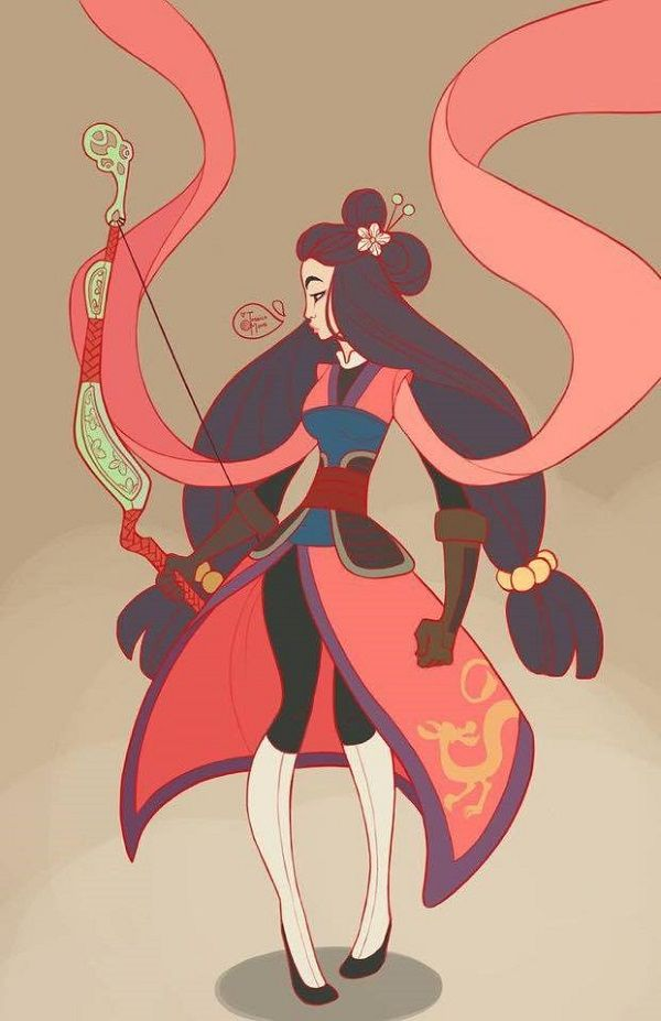 Disney Ladies With Weapons - Mulan                              …