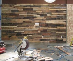 another pallet wall