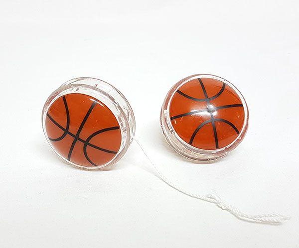 Yo-Yo con luz baloncesto