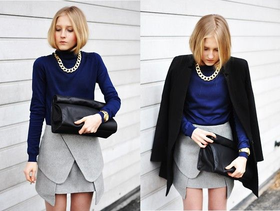 Origami skirt.| movesfashion. (by Dominica Justyna) http://lookbook.nu/look/4550965-Origami-skirt-movesfashion