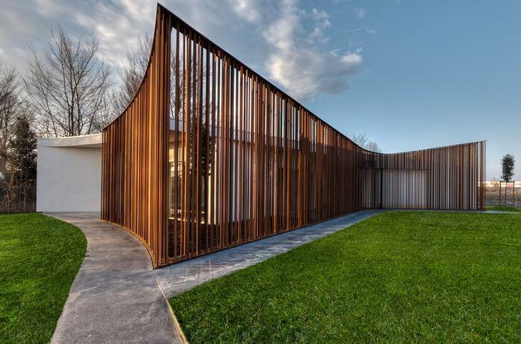 Corten Pavilion, Veneto, 2014 - 3ndy Studio