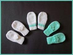 marianna's lazy daisy days: Simple Baby and Preemie Baby Mittens