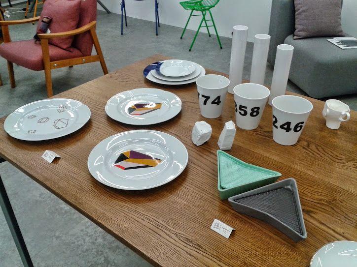 Tableware ceramics by Ćmielów Design Studio