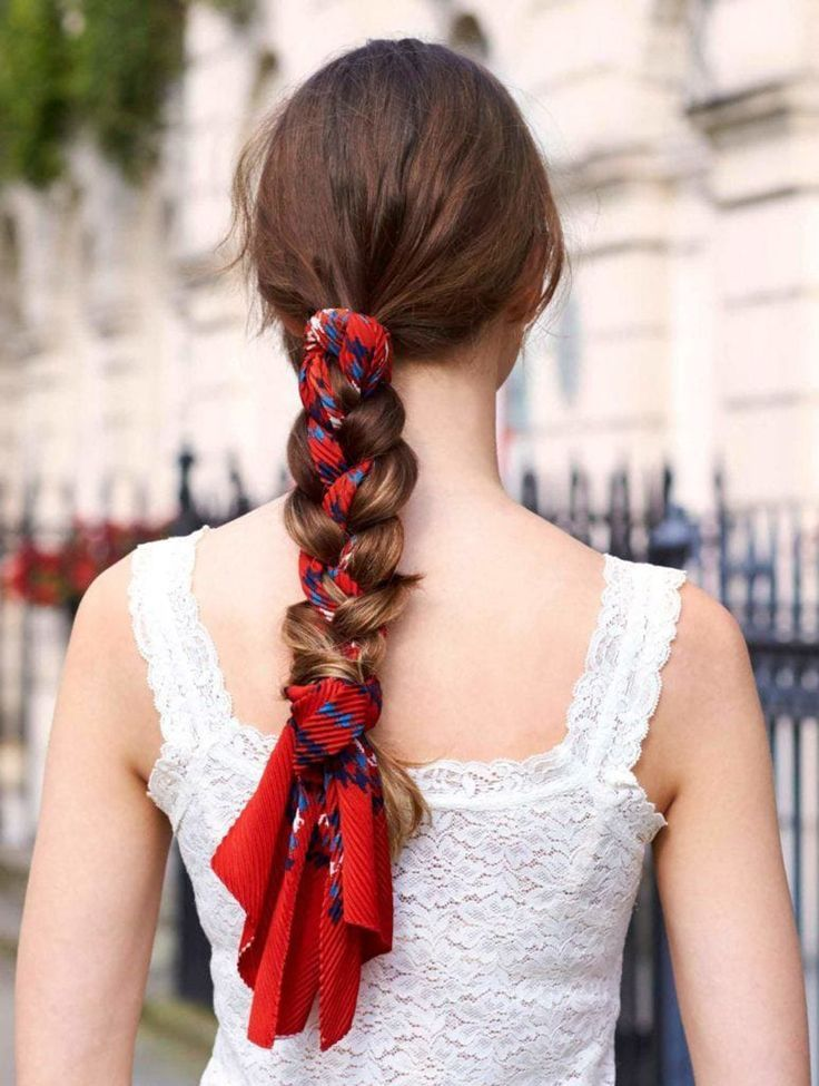 6 Different Ways To Wear A Scarf In Your Hair Poor