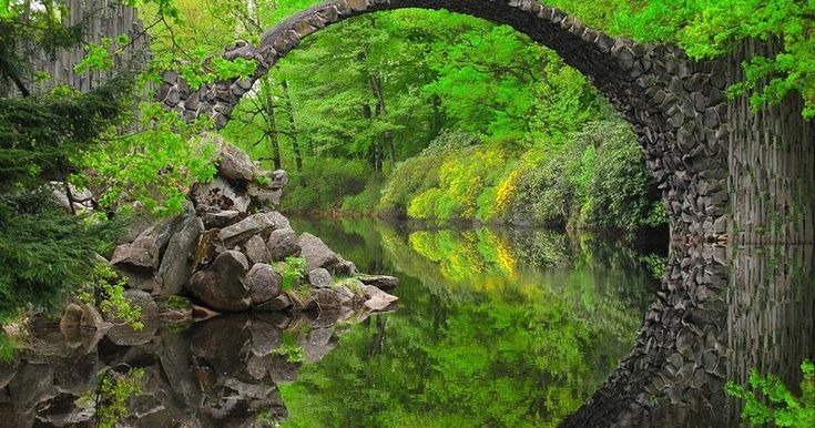 A beautiful bridge.  Build a beautiful spiritual bridge.