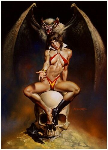 Vampy by Boris Vallejo 1994                                                                                                                                                                                 More