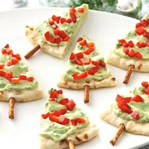 Un entrante sencillo, sabroso, ¡y muy original! Te explicamos paso a paso cómo hacer estos aperitivos de Navidad en forma de abeto.
