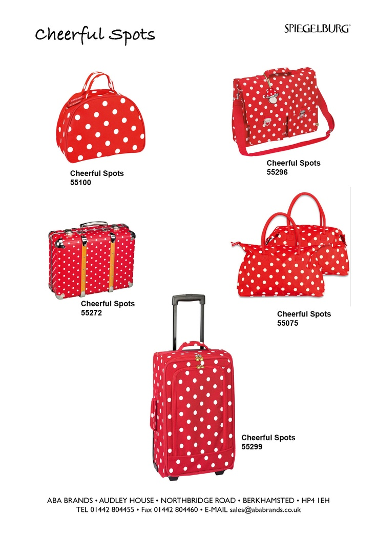 Cheerful Spot Luggage Range