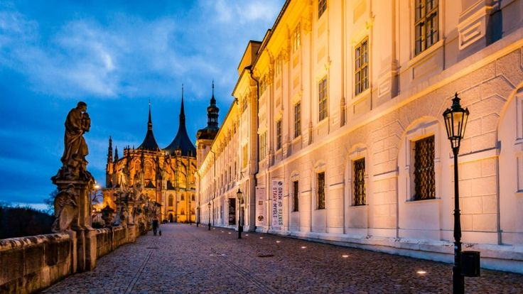 Kutna Hora,Czech Republic - Kutna Hora is an easy day trip out of the city, but book in for a few days and soak up the Bohemia beauty in the off-season without the need for a selfie stick battle on Charles Bridge.