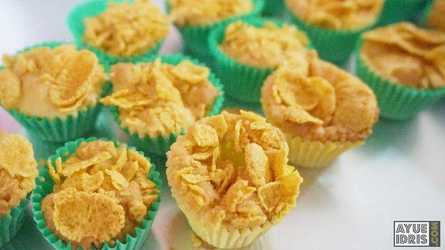 resepi cornflakes madu  bakar resepi bergambar Resepi Kuih Bakar Sarang Madu Enak dan Mudah