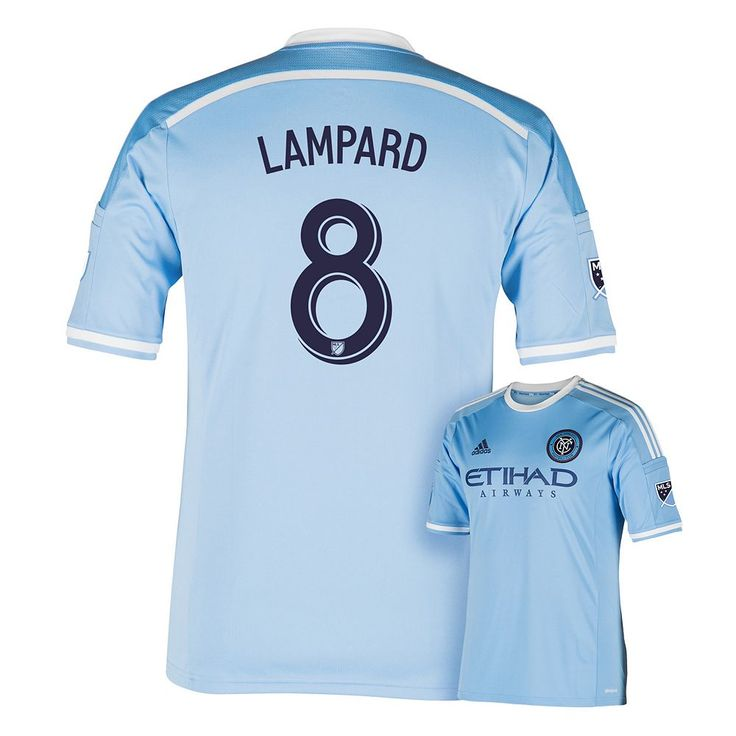 Men's Adidas New York City FC Frank Lampard Jersey, Size: Large, Blue