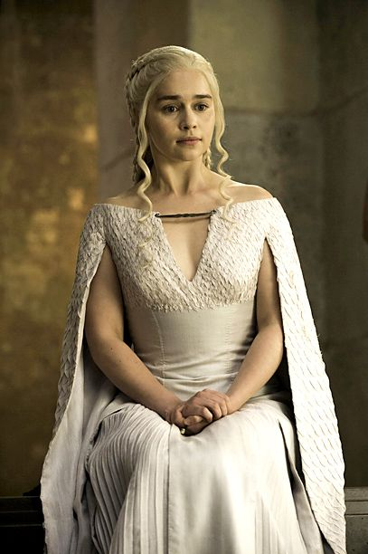 Kind of a little bit in love with Dany Targs caped dresses in GOT. Bit of inspo.