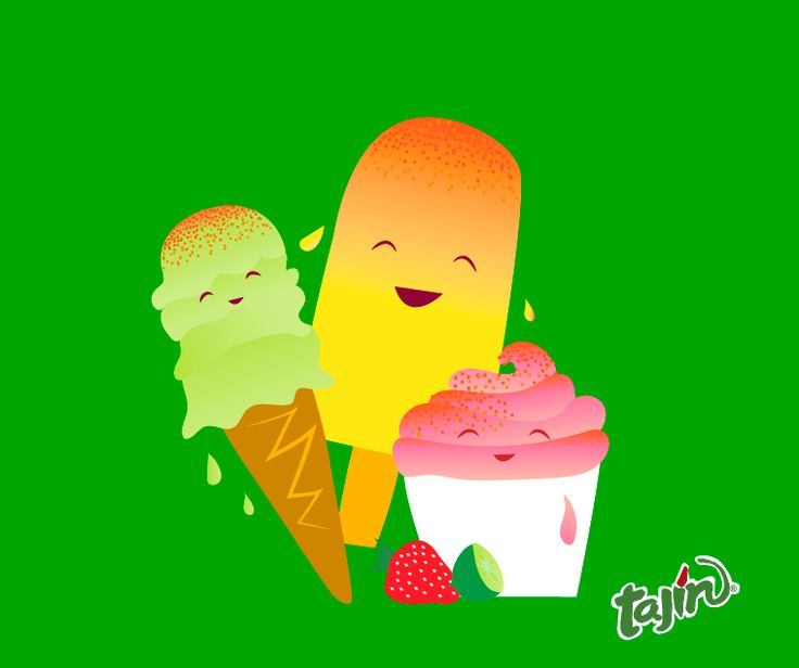 Frozen treats love a little sprinkle of Tajín :) #Icepops #Tajin #sorbet