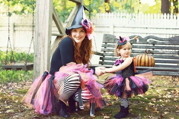 Witch Tutu Witch Costume Adult Witch Baby by willowlaneboutiques, $125.00