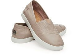 TOMS | Avalon Sneaker Stucco leather, nude