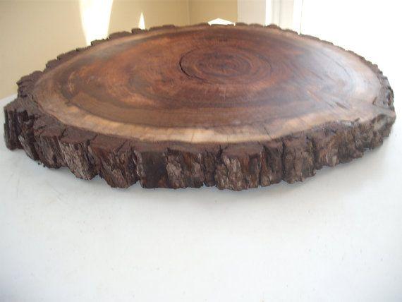 Black Walnut Tree Slice Weddings Table Top Trees