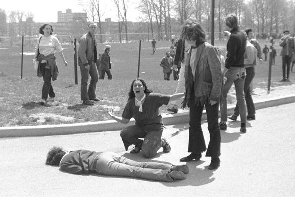 John Filo, The Grieving Student at Kent State University, 1970